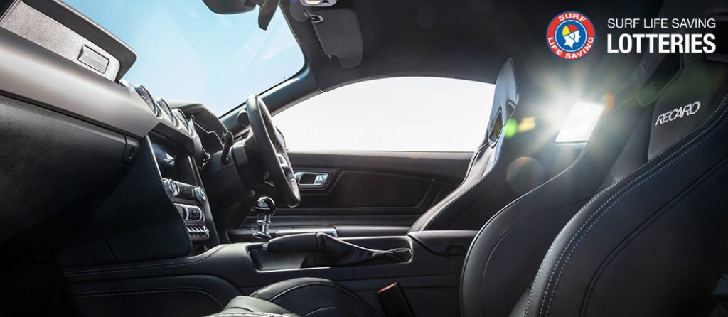 Surf Lotteries Winners choice mustang interior