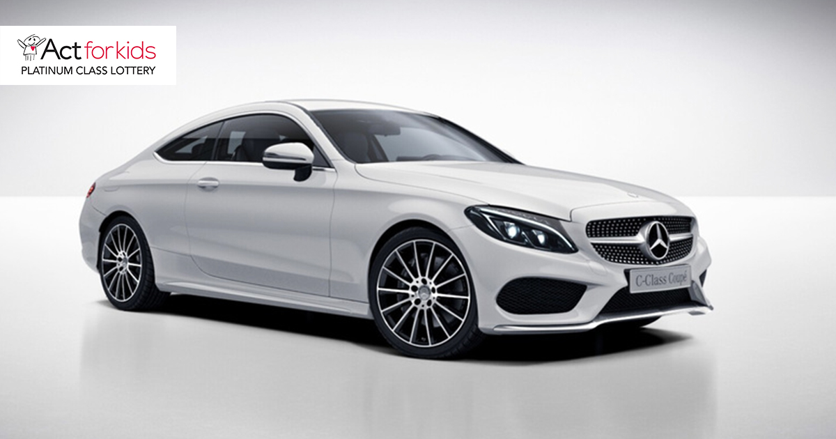 Act For Kids Lottery - Win a Mercedes-Benz