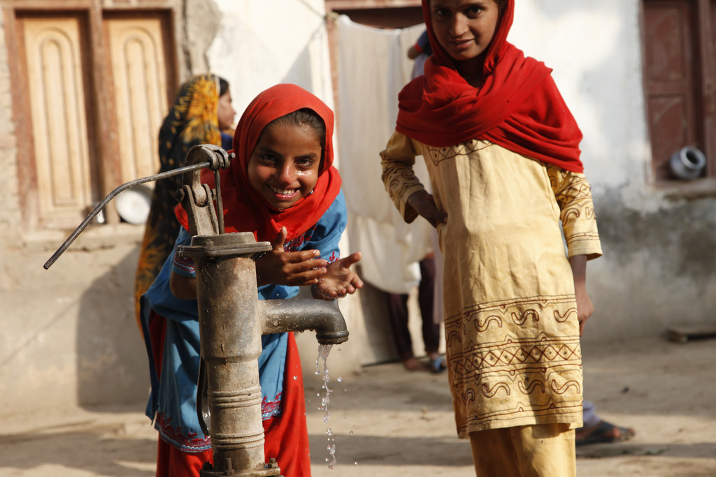 Buy water pumps to provide 1,782 villages in Bangladesh with clean water