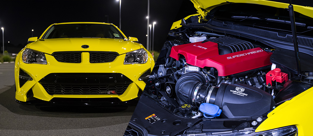 HSV GTSR with V8 supercharged engine and W557 pack