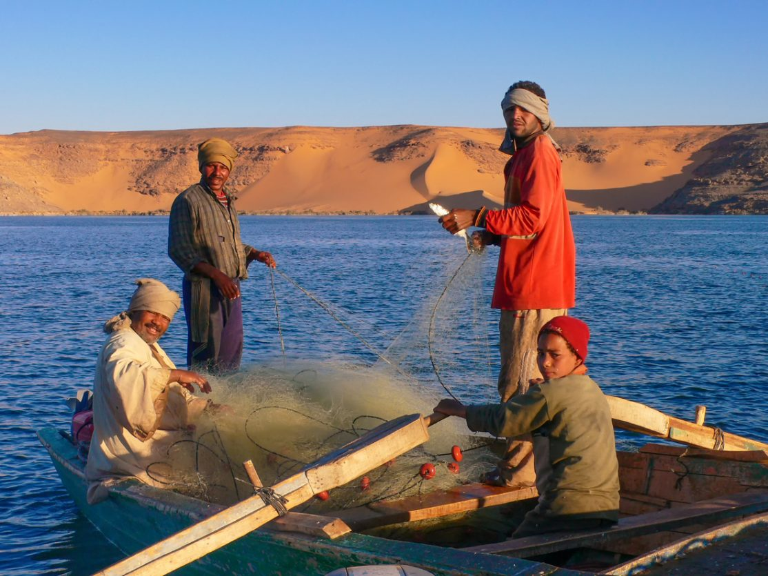 Saturday Superdraw 20 Best Fishing Spots - Lake Nasser, Egypt