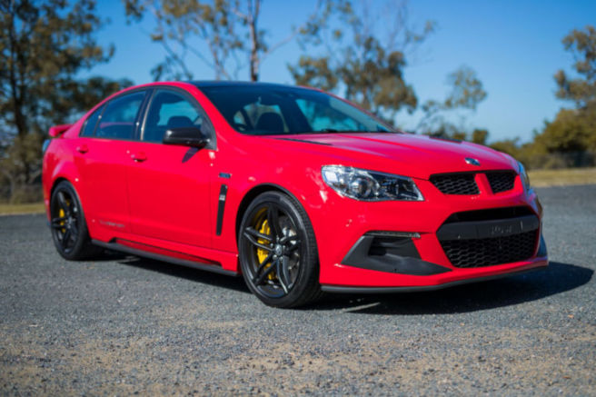 Cars for Cancer lottery prize - HSV Clubsport