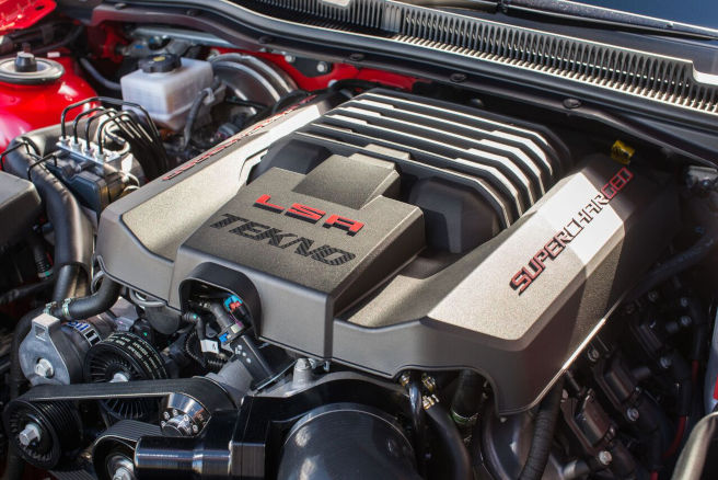 Cars for Cancer lottery - LSA TEKNO engine.