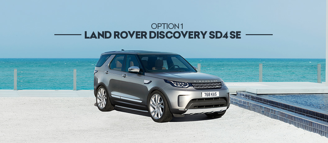 Surf Winner's Choice draw 407 prize option - Land Rover Discovery