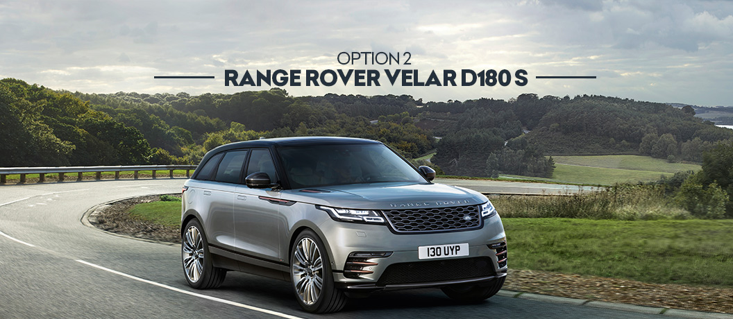 Winner's Choice draw prize option - Range Rover Velar