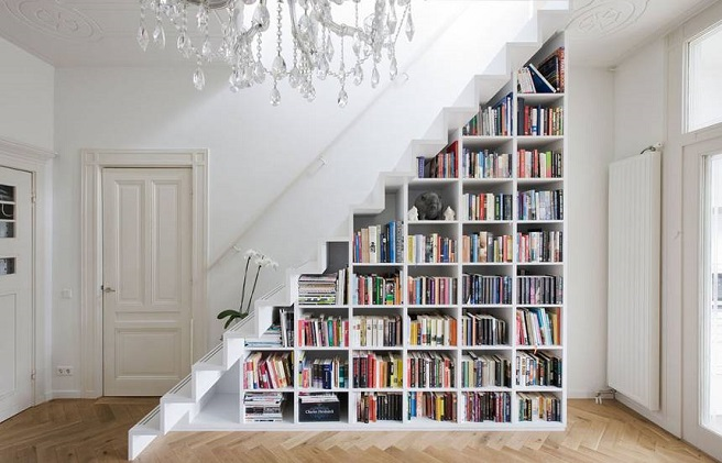 Bookcase Staircase