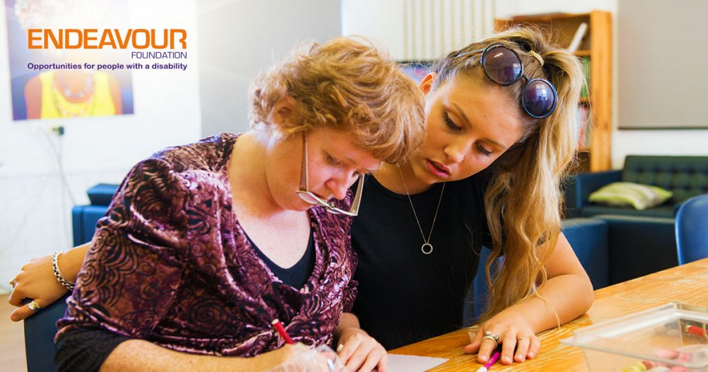 Endeavour Foundation helps those with disabilities in our community.