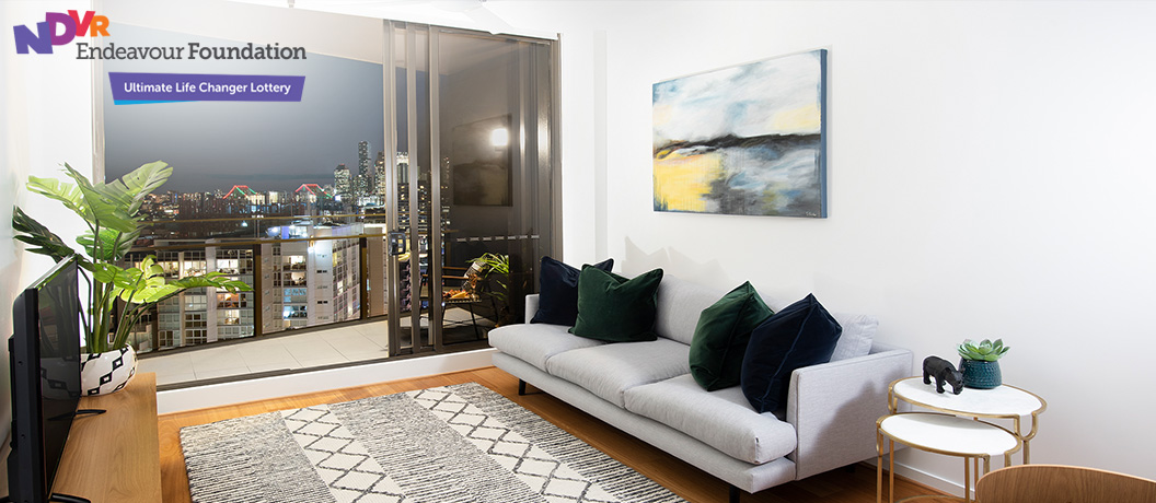 Endeavour Foundation Special Lifestyle Lottery - Win this Brisbane apartment!
