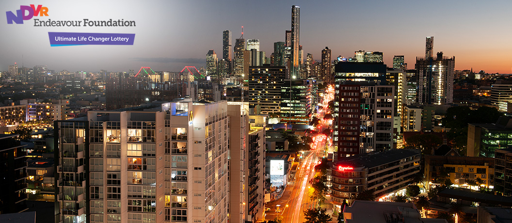 Endeavour Foundation Special Lifestyle Lottery - Brisbane apartment views