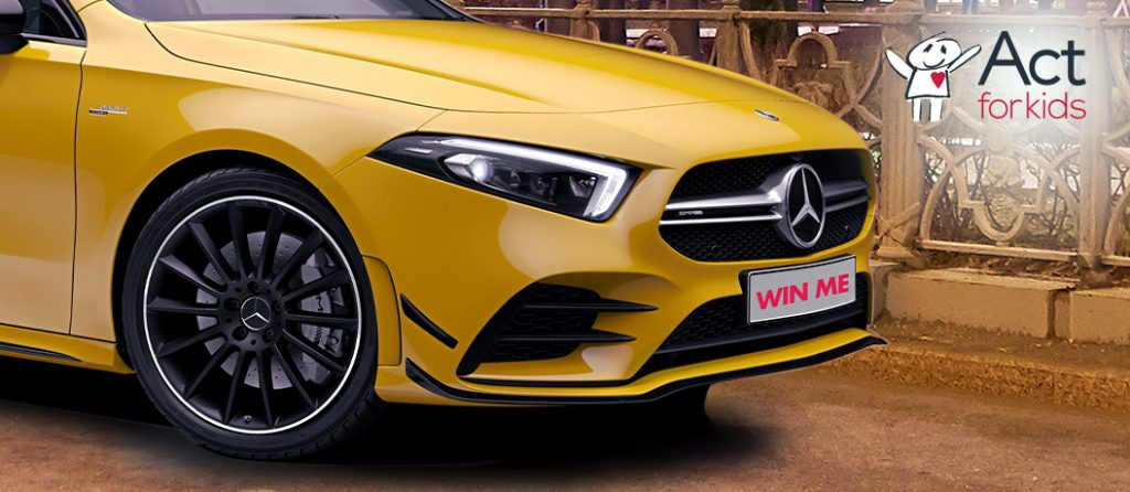Act for Kids Mercedes-Benz A35 AMG Hatch